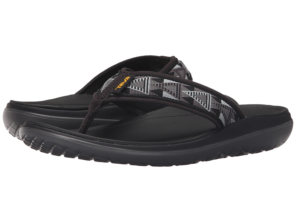 Teva - Terra-Float Flip (Mosaic Black/Dusk) Men's Sandals