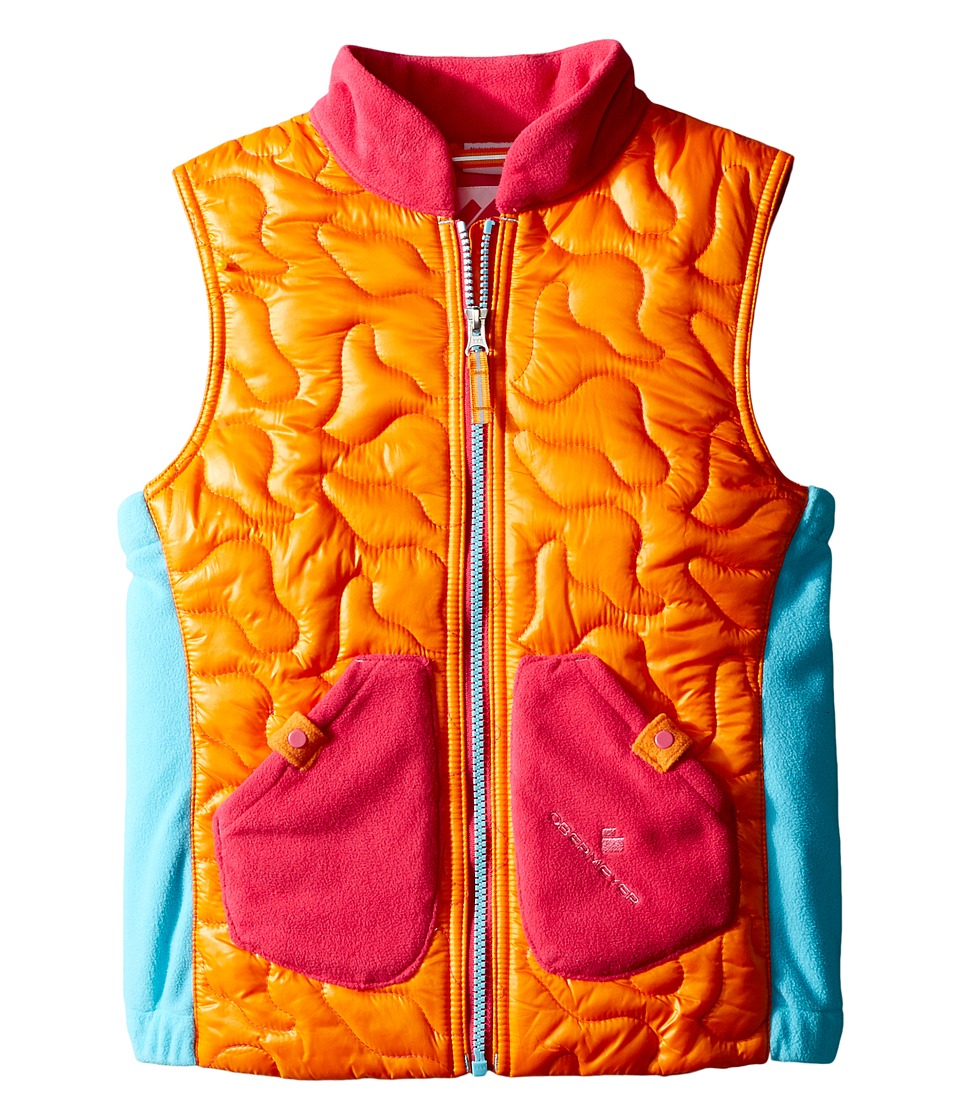 Obermeyer Kids - Snuggle Vest (Toddler/Little Kids/Big Kids) (Tangerine) Girl's Vest