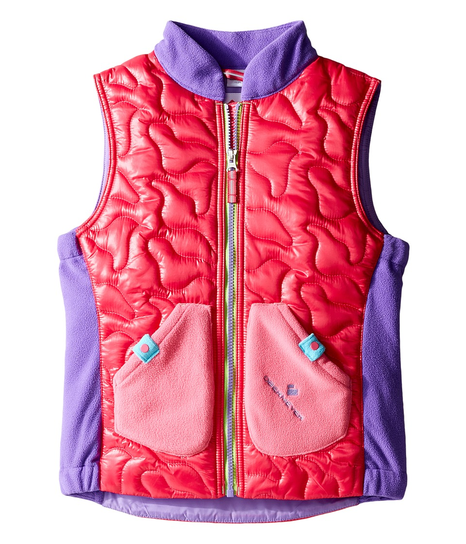 Obermeyer Kids - Snuggle Vest (Toddler/Little Kids/Big Kids) (Glamour Pink) Girl's Vest