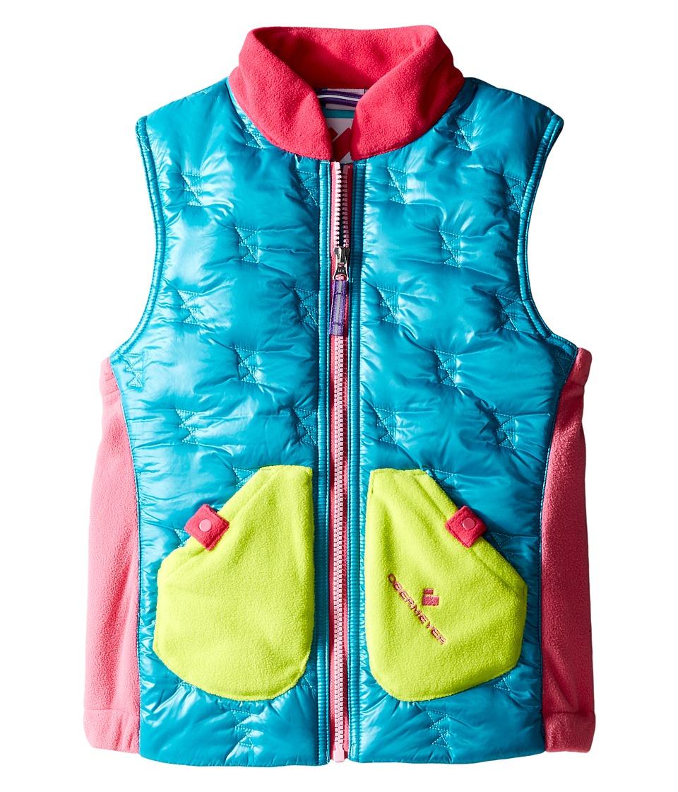 Obermeyer Kids - Snuggle Vest (Toddler/Little Kids/Big Kids) (Mermaid) Girl's Vest