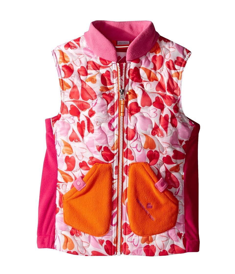 Obermeyer Kids - Snuggle Vest (Toddler/Little Kids/Big Kids) (Heart Gingham) Girl's Vest