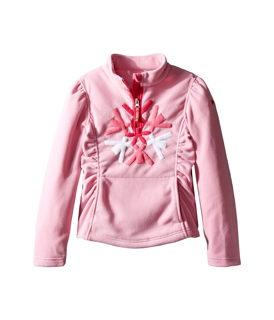 Obermeyer Kids - Snocrystal Fleece Top (Toddler/Little Kids/Big Kids) (Sugar Berry) Girl's Fleece