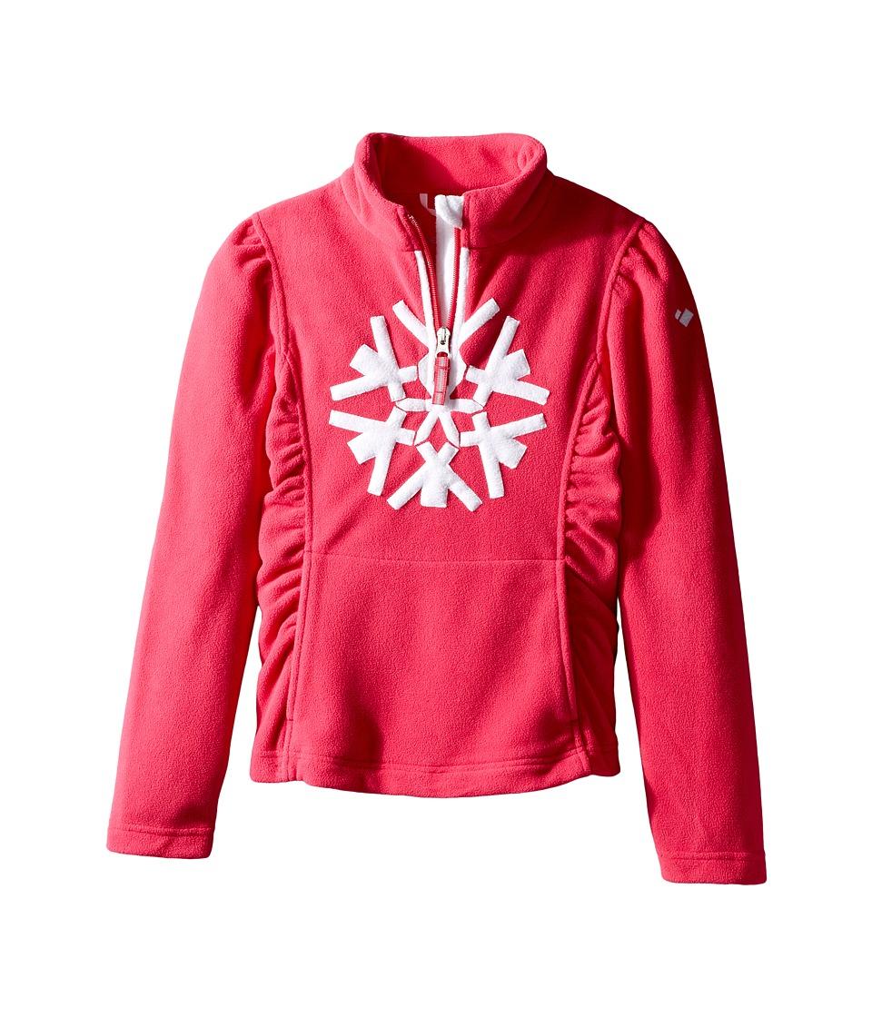 Obermeyer Kids - Snocrystal Fleece Top (Toddler/Little Kids/Big Kids) (Glamour Pink) Girl's Fleece