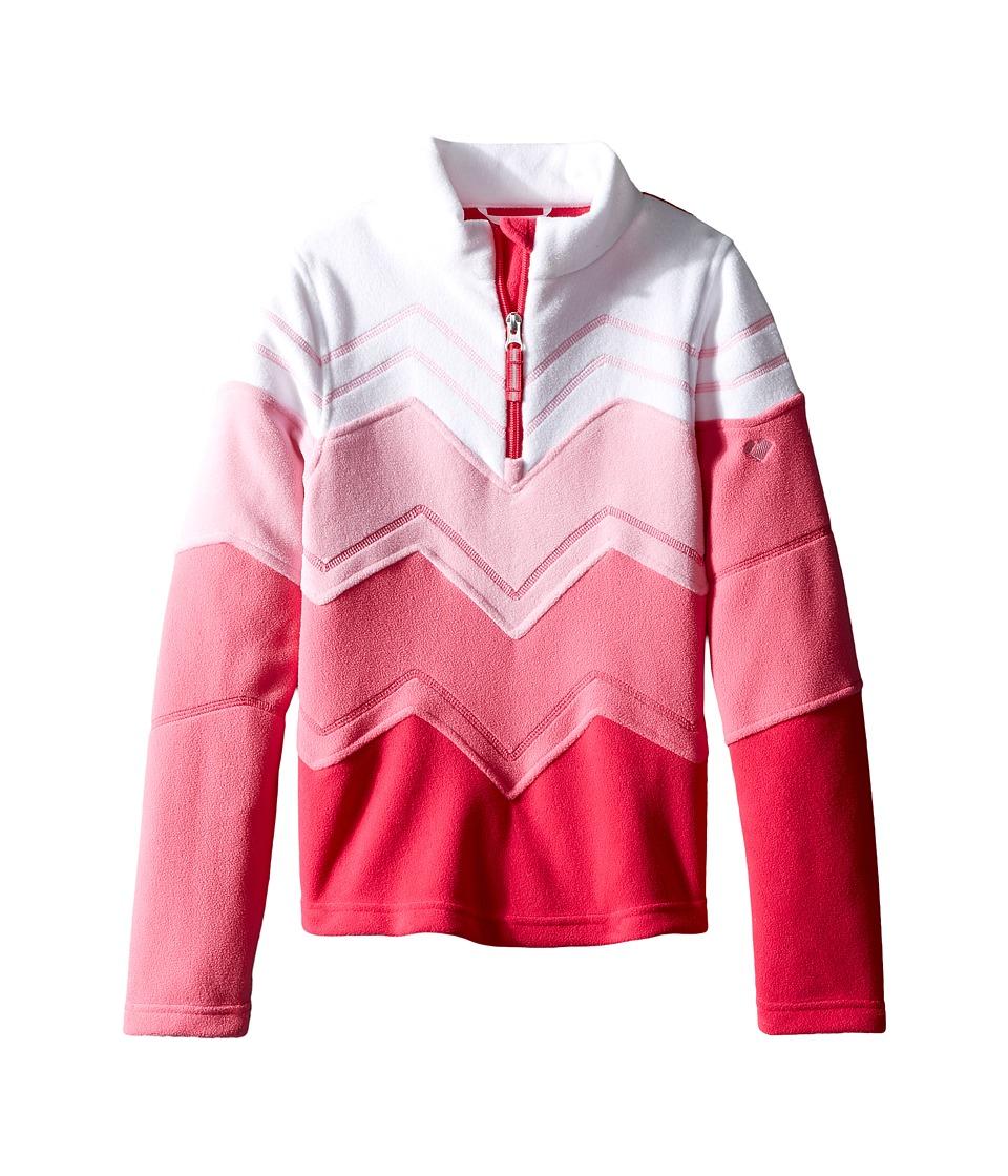 Obermeyer Kids - Zig Fleece Top (Toddler/Little Kids/Big Kids) (Glamour Pink) Girl's Fleece