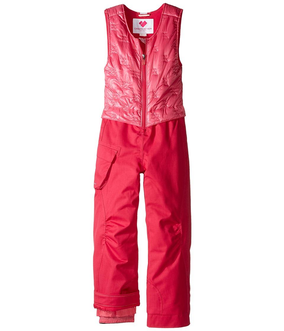 Obermeyer Kids - ChaCha Bib (Toddler/Little Kids/Big Kids) (Glamour Pink) Girl's Snow Bibs One Piece