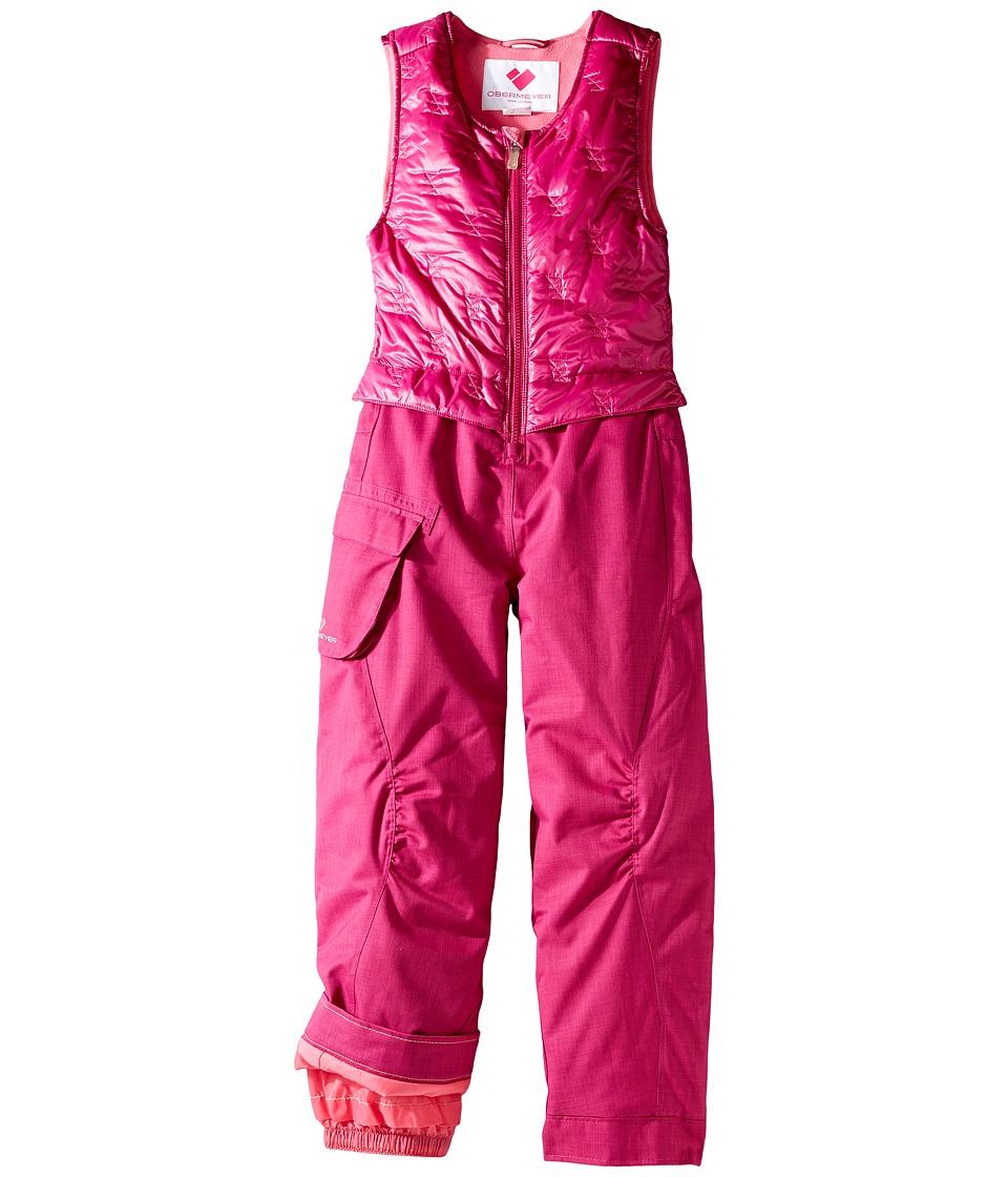 Obermeyer Kids - ChaCha Bib (Toddler/Little Kids/Big Kids) (Razzberry) Girl's Snow Bibs One Piece