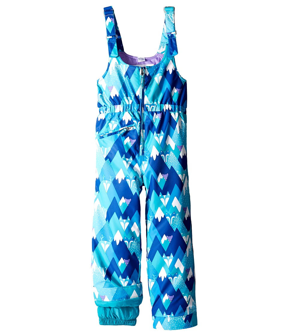 Obermeyer Kids - Snoverall Pants Print (Toddler/Little Kids/Big Kids) (Blue Mountains) Girl's Casual Pants