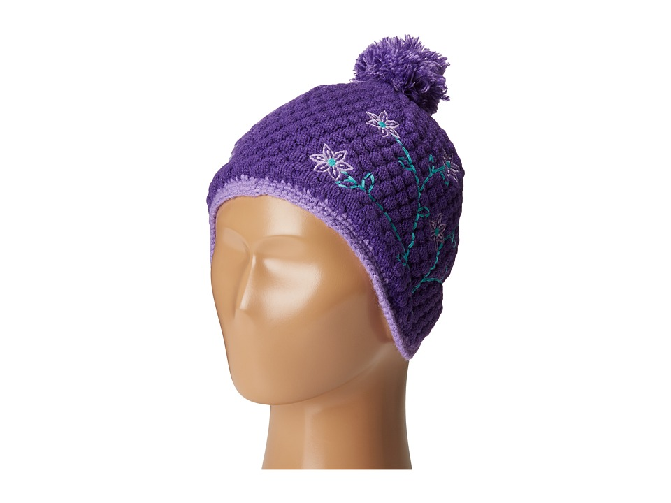 Obermeyer Kids - Flower Pop Knit Hat (Little Kids) (Grapesicle) Knit Hats