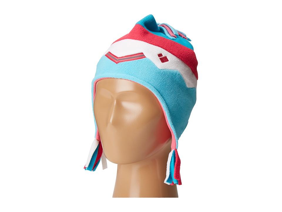 Obermeyer Kids - Zag Fleece Hat (Toddler/Little Kids) (Blue Reef) Caps