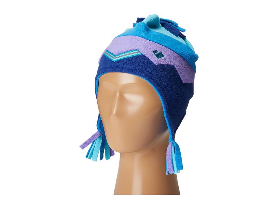 Obermeyer Kids - Zag Fleece Hat (Toddler/Little Kids) (Dusk) Caps