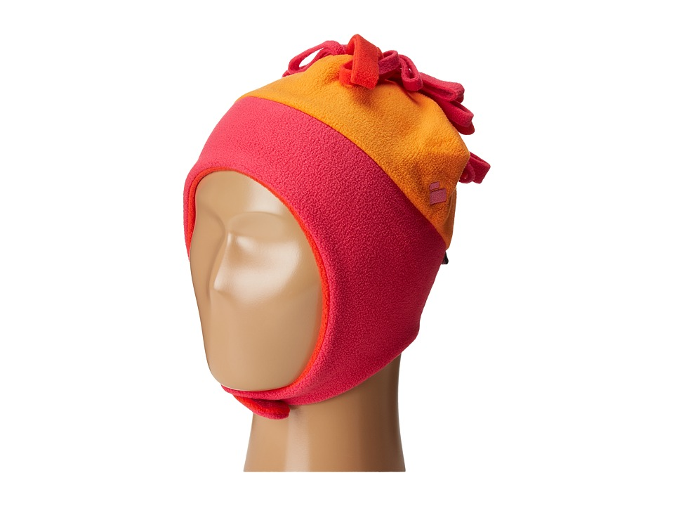Obermeyer Kids - Floret Fleece Hat (Toddler/Little Kids) (Tangerine) Caps