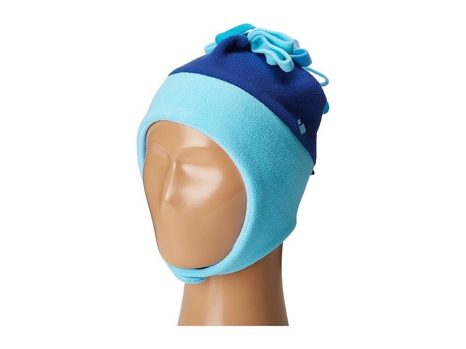 Obermeyer Kids - Floret Fleece Hat (Toddler/Little Kids) (Blue Reef) Caps