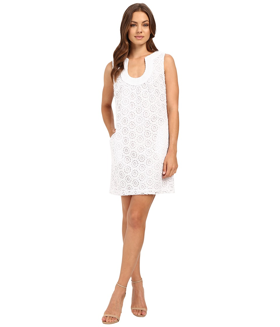 Trina Turk Maple Dress (Whitewash) Women
