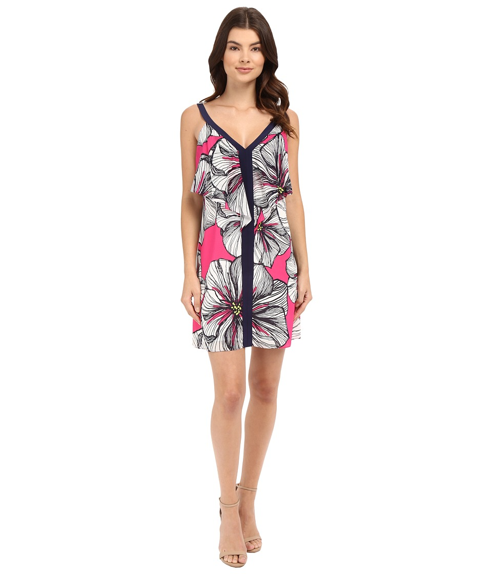 Trina Turk Scyler Dress (Brilliant Fuchsia) Women