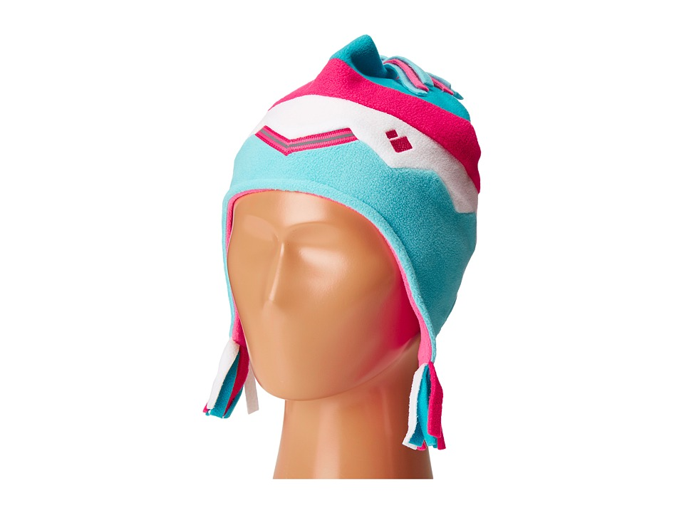 Obermeyer Kids - Zag Fleece Hat (Little Kids) (Blue Reef) Caps