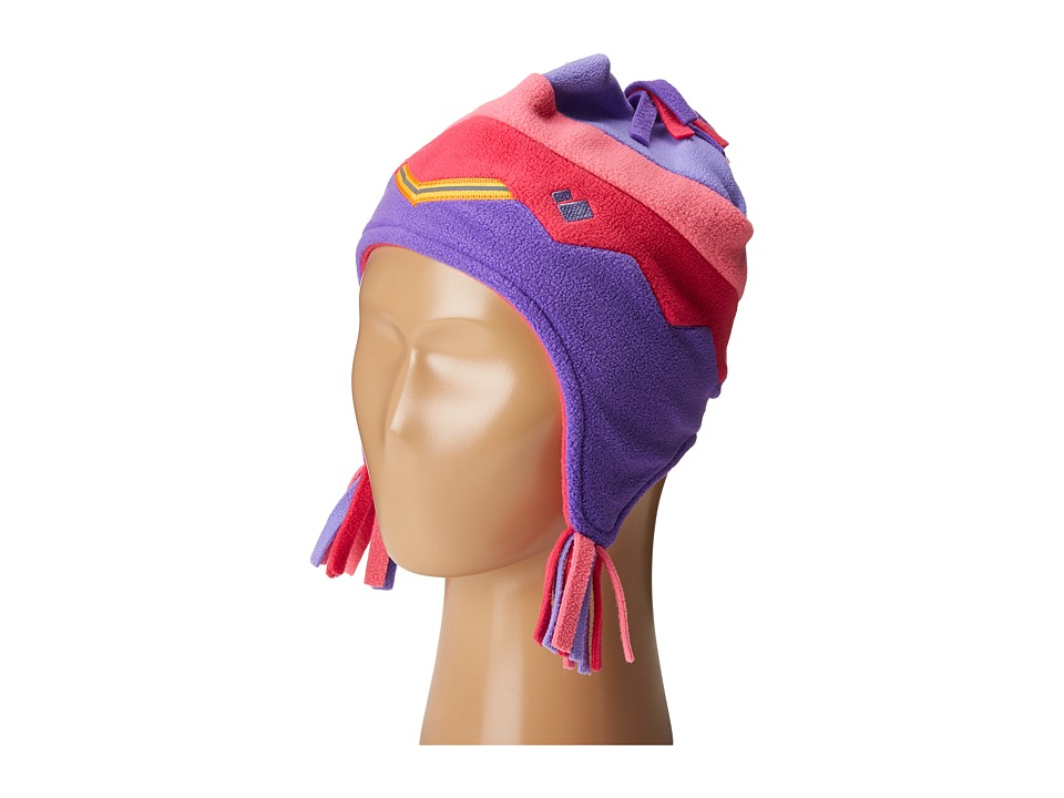 Obermeyer Kids - Zag Fleece Hat (Little Kids) (Grapesicle) Caps