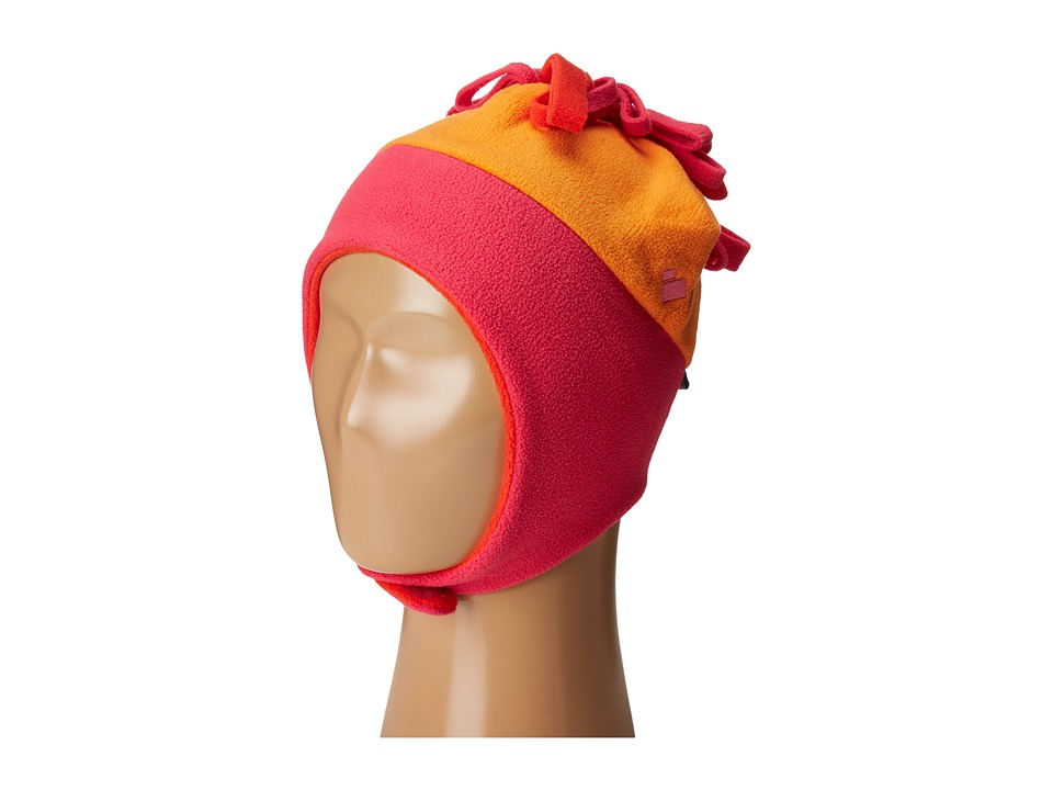 Obermeyer Kids - Floret Fleece Hat (Little Kids) (Tangerine) Caps