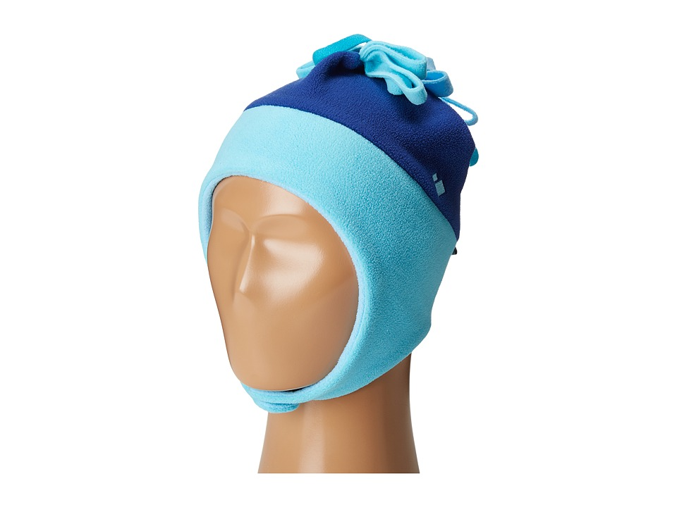 Obermeyer Kids - Floret Fleece Hat (Little Kids) (Blue Reef) Caps