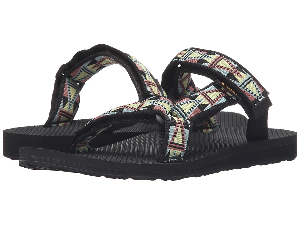 Teva - Universal Slide (Mosaic Black/Multi) Women's Sandals