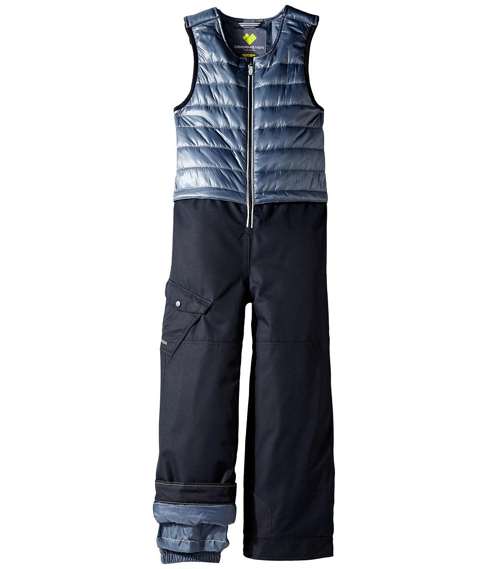 Obermeyer Kids - Chilkat Bib (Toddler/Little Kids/Big Kids) (Graphite) Boy's Jumpsuit & Rompers One Piece