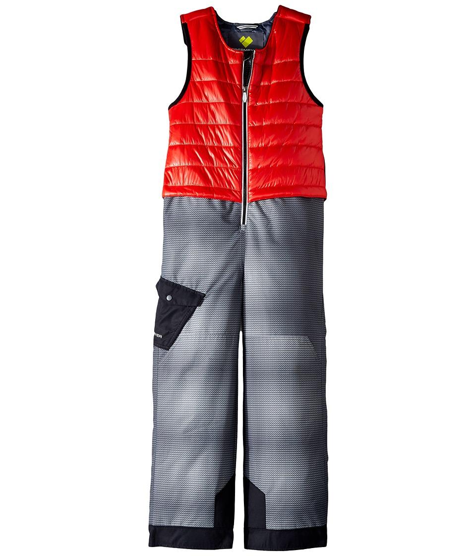 Obermeyer Kids - Chilkat Bib (Toddler/Little Kids/Big Kids) (Red) Boy's Jumpsuit & Rompers One Piece