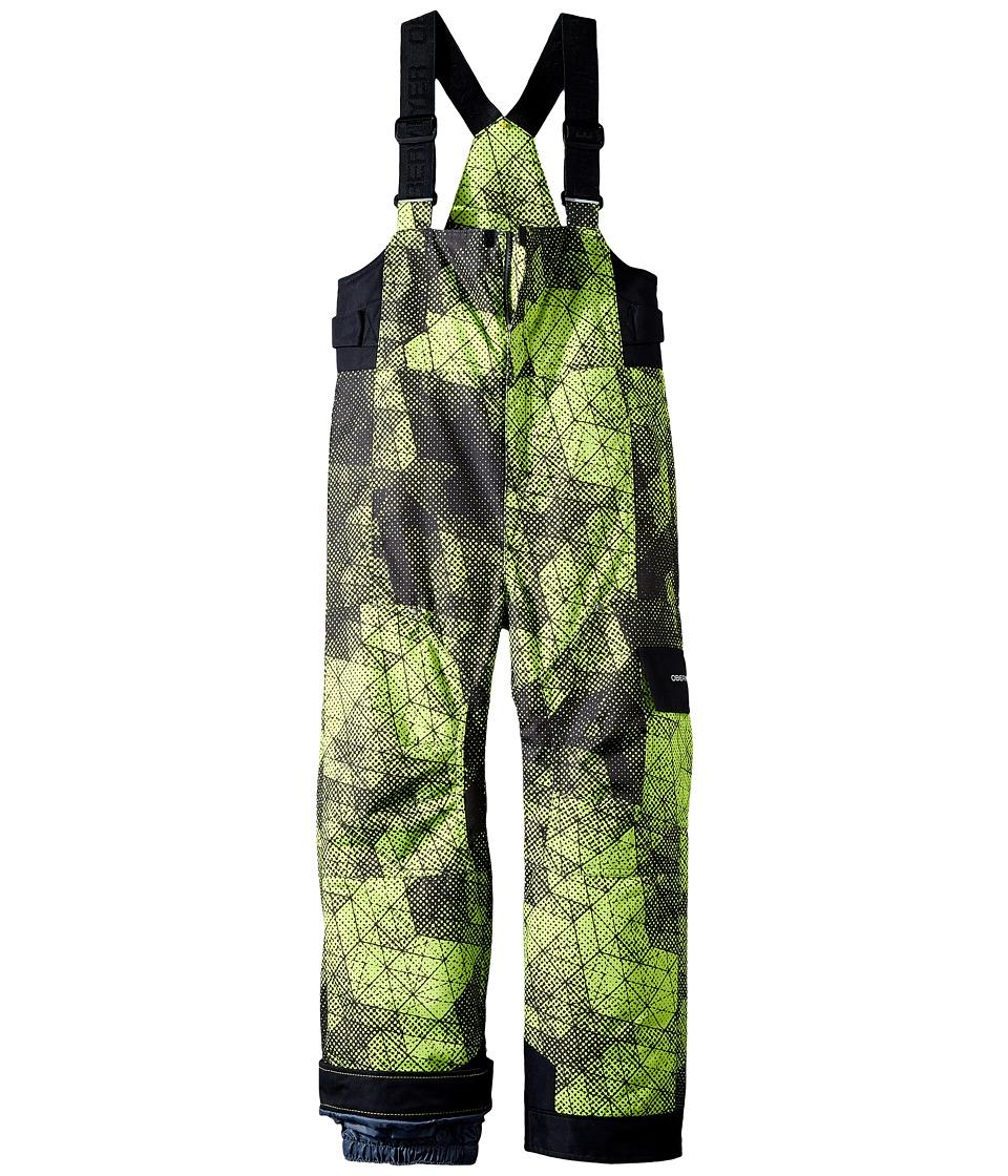 Obermeyer Kids - Volt Pants Print (Toddler/Little Kids/Big Kids) (Green Mesh Print) Boy's Casual Pants