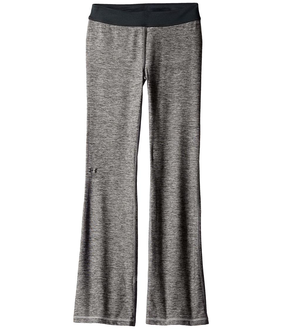 Under Armour Kids - Finale Studio Pants (Big Kids) (Carbon Heather/Steel/Black) Girl's Casual Pants