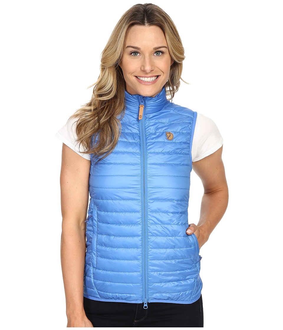 Fj llr ven - Abisko Padded Vest (Uncle Blue) Women's Vest