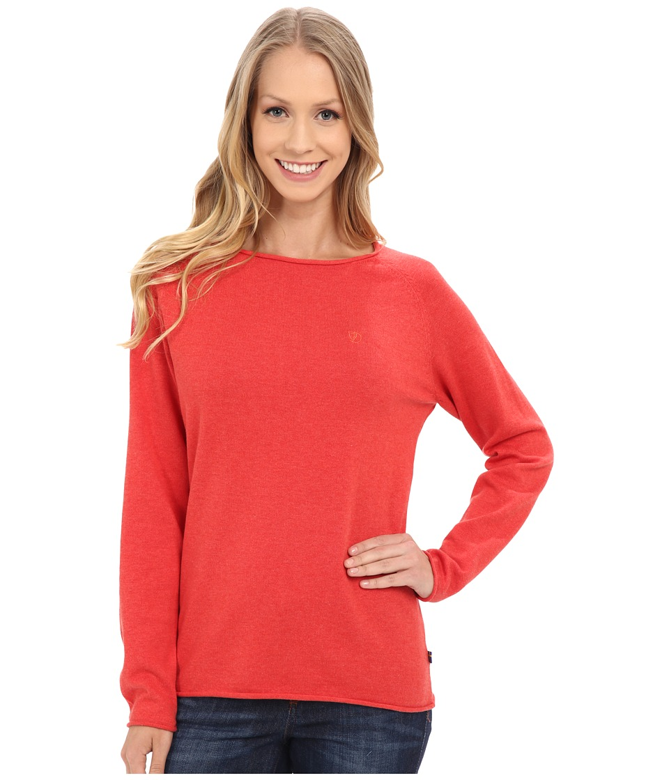 Fj llr ven - vik Sweater (Coral) Women's Sweater