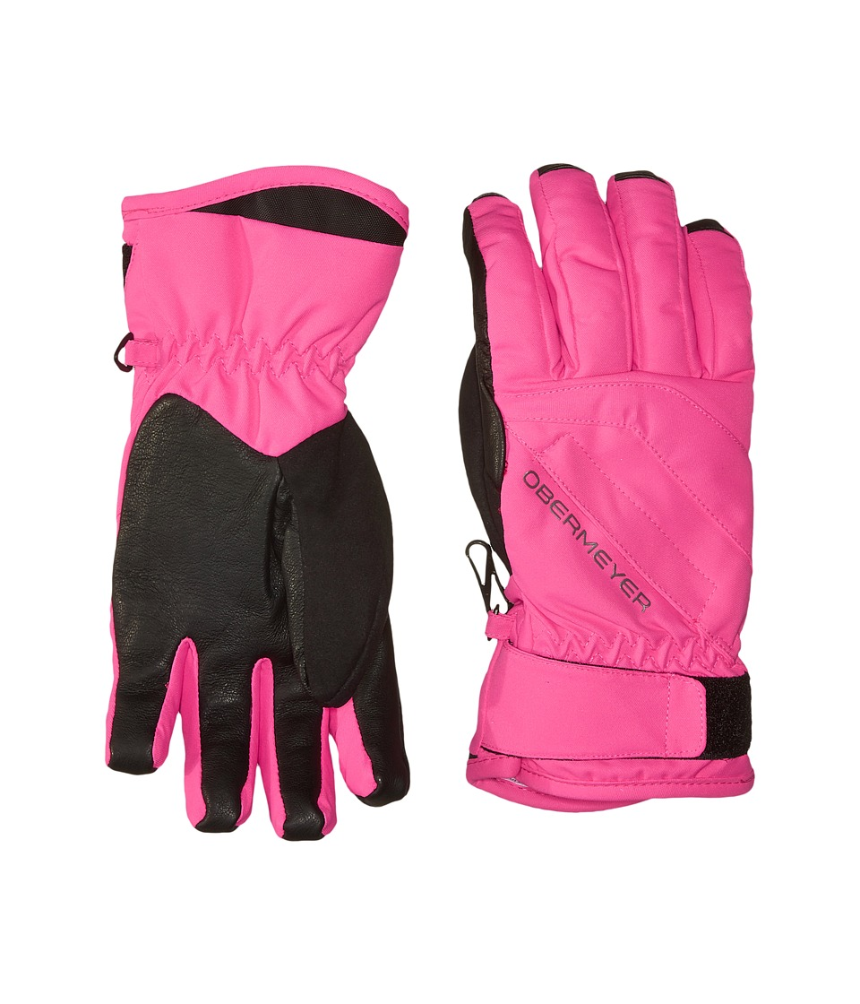 Obermeyer Kids - Cornice Gloves (Big Kids) (Electric Pink) Extreme Cold Weather Gloves