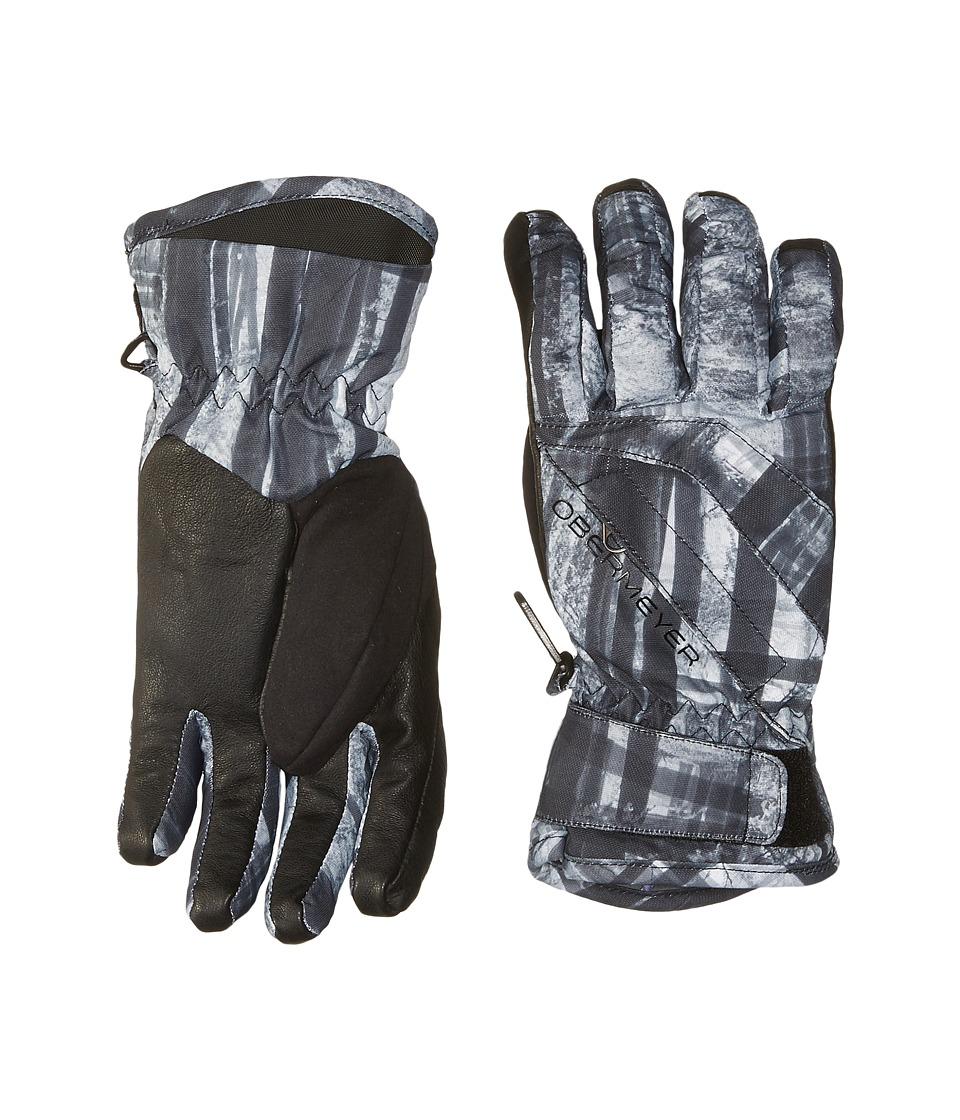 Obermeyer Kids - Cornice Gloves (Big Kids) (Forrest for the Trees) Extreme Cold Weather Gloves