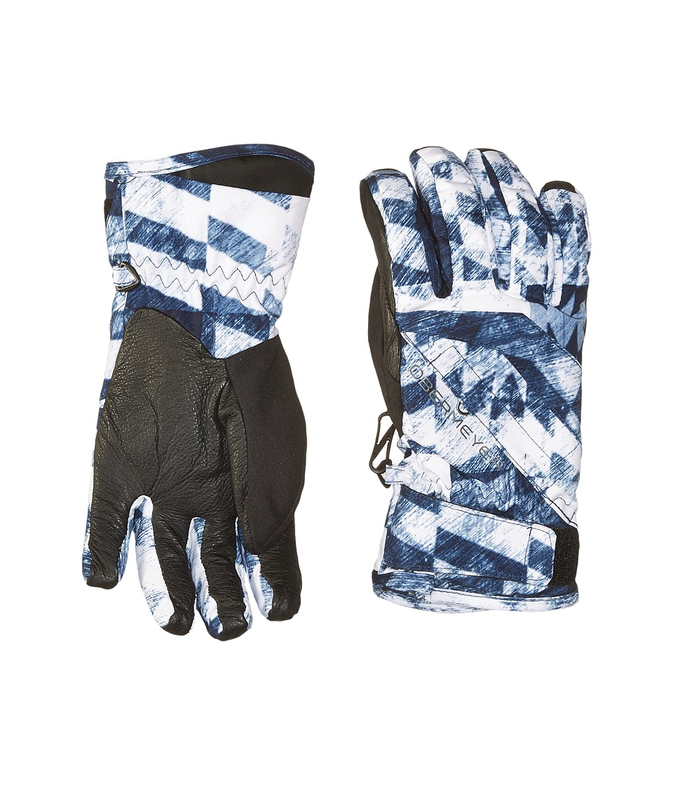 Obermeyer Kids - Cornice Gloves (Big Kids) (Coat of Arms) Extreme Cold Weather Gloves