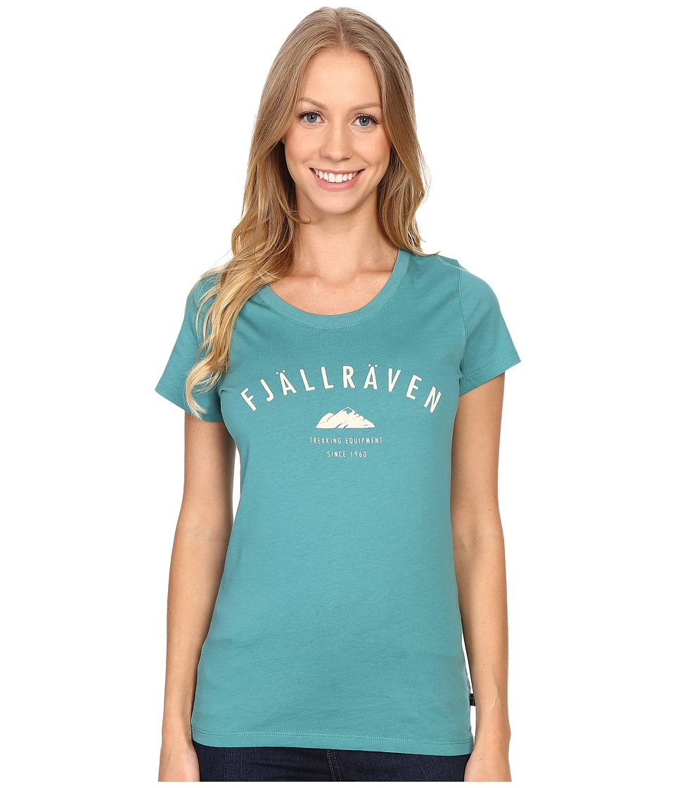 Fj llr ven - Trekking Equipment T-Shirt (Copper Green/Chalk White) Women's T Shirt