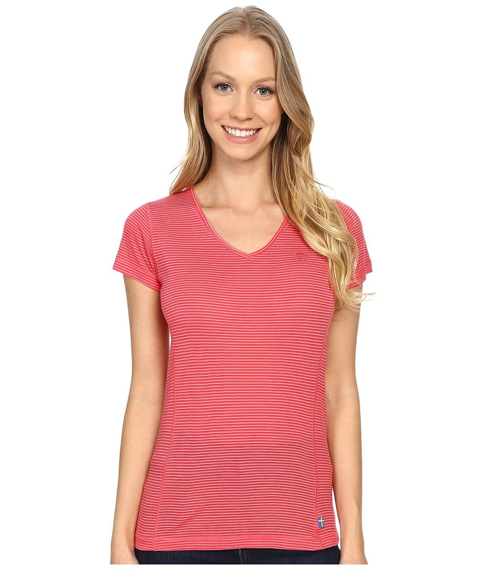 Fjallraven - Dasy T-Shirt (Coral) Women's T Shirt