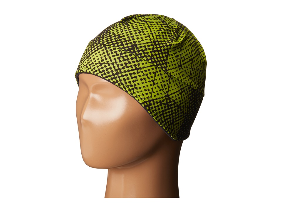 Obermeyer Kids - Jib Skull Cap (Little Kids) (Green Mesh Print) Caps
