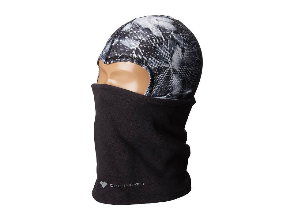 Obermeyer Kids - Powder Balaclava (Little Kids) (Blackout Floral) Caps
