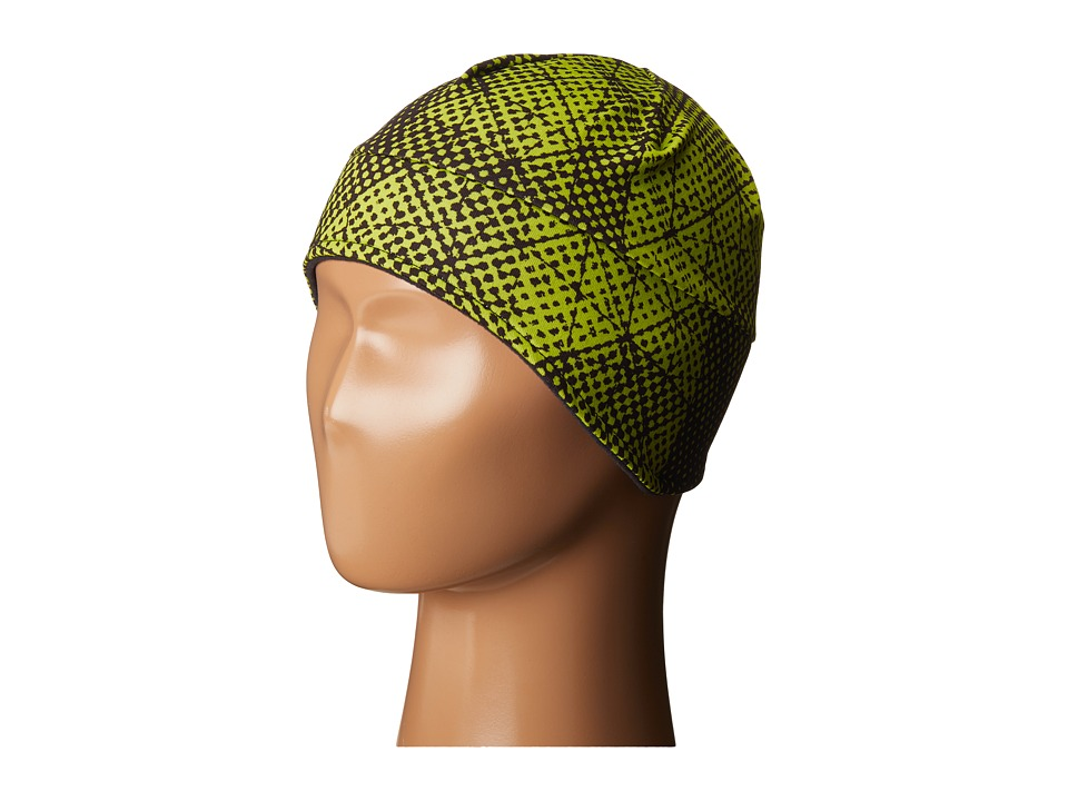 Obermeyer Kids - Jib Skull Cap (Big Kids) (Green Mesh Print) Caps
