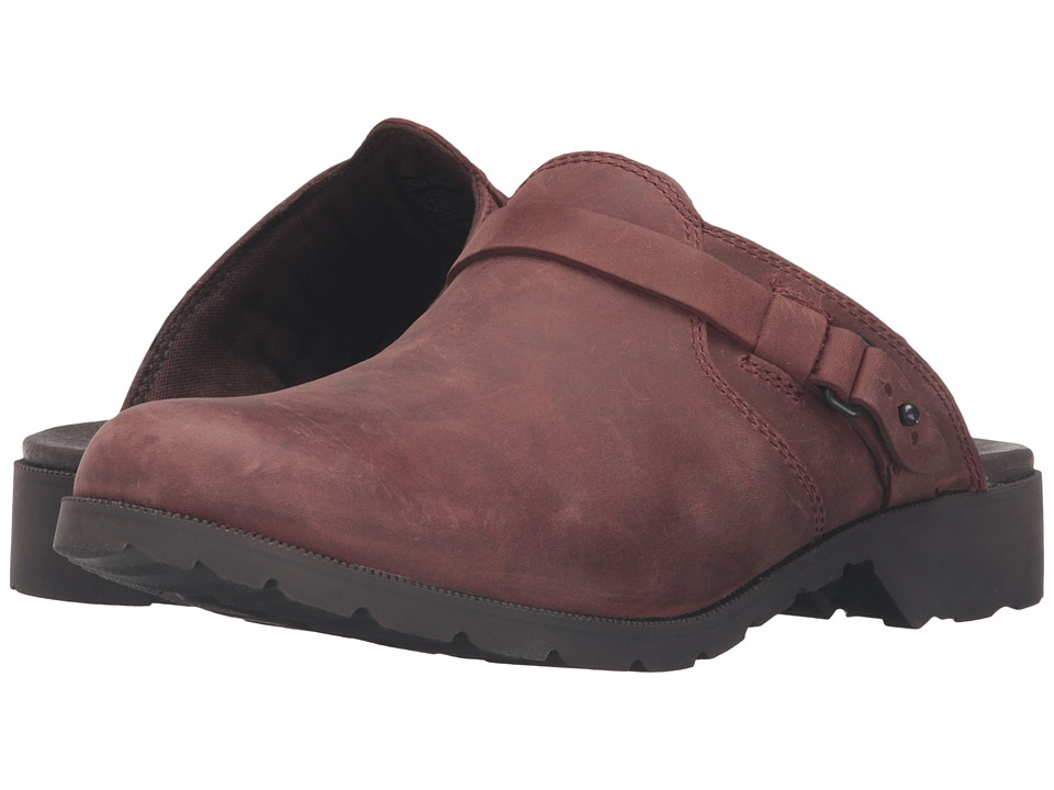 Teva Delavina Mule (Adobe Brown) Women