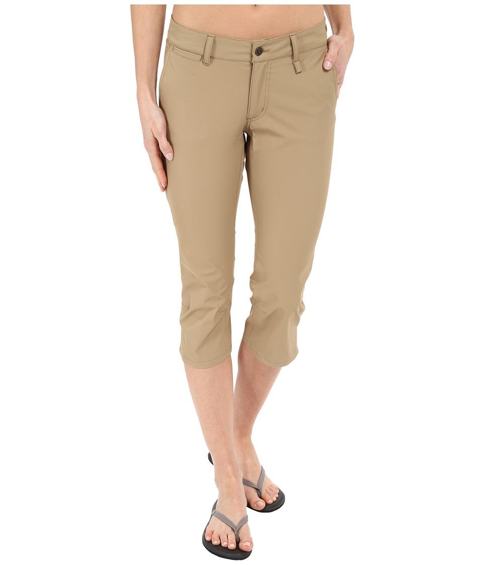 Fjallraven - Abisko Capris Trousers (Sand) Women's Capri