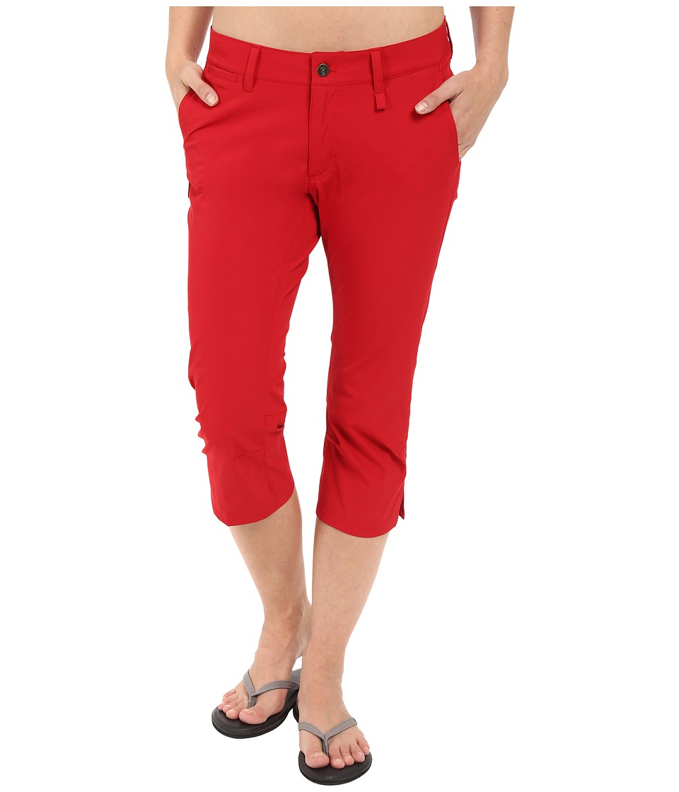 Fj llr ven - Abisko Capris Trousers (Red) Women's Capri