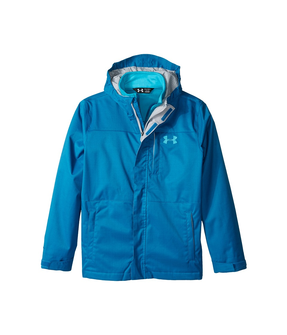 Under Armour Kids - UA CGI Wildwood 3-in-1 (Big Kids) (Peacock/Peacock/Peacock) Boy's Coat