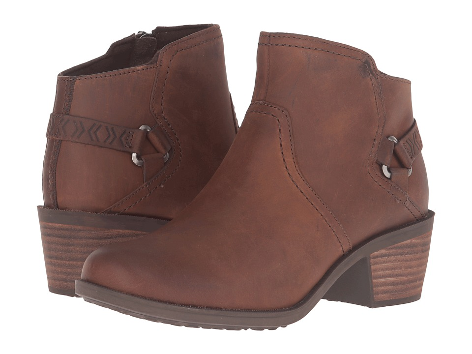 Teva - Foxy Leather (Brown) Women's Shoes