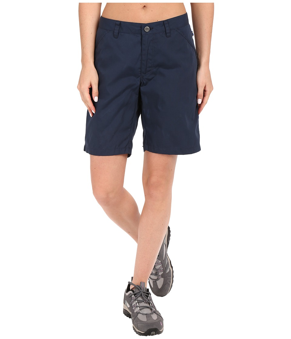 Fjallraven - High Coast Shorts (Navy) Women's Shorts