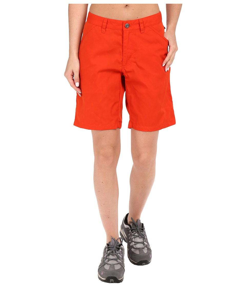 Fj llr ven - High Coast Shorts (Flame Orange) Women's Shorts