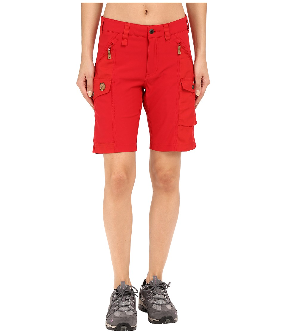 Fjallraven - Nikka Short (Red) Women's Shorts