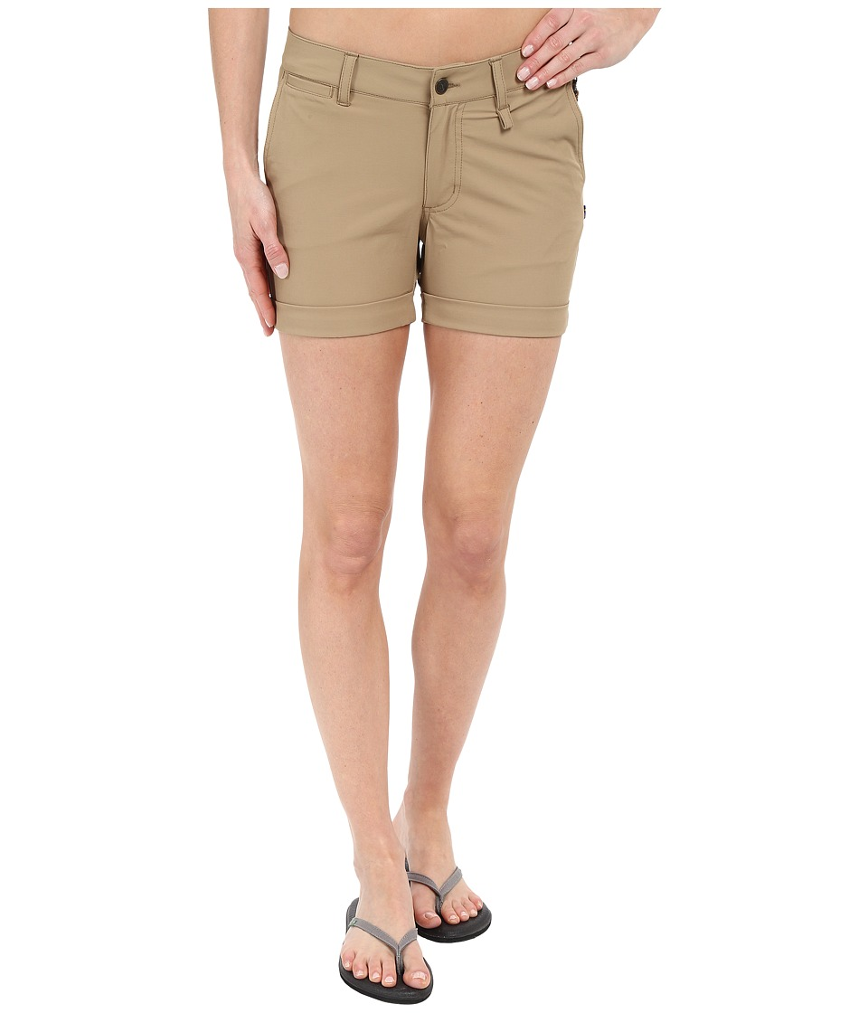 Fjallraven - Abisko Stretch Shorts (Sand) Women's Shorts