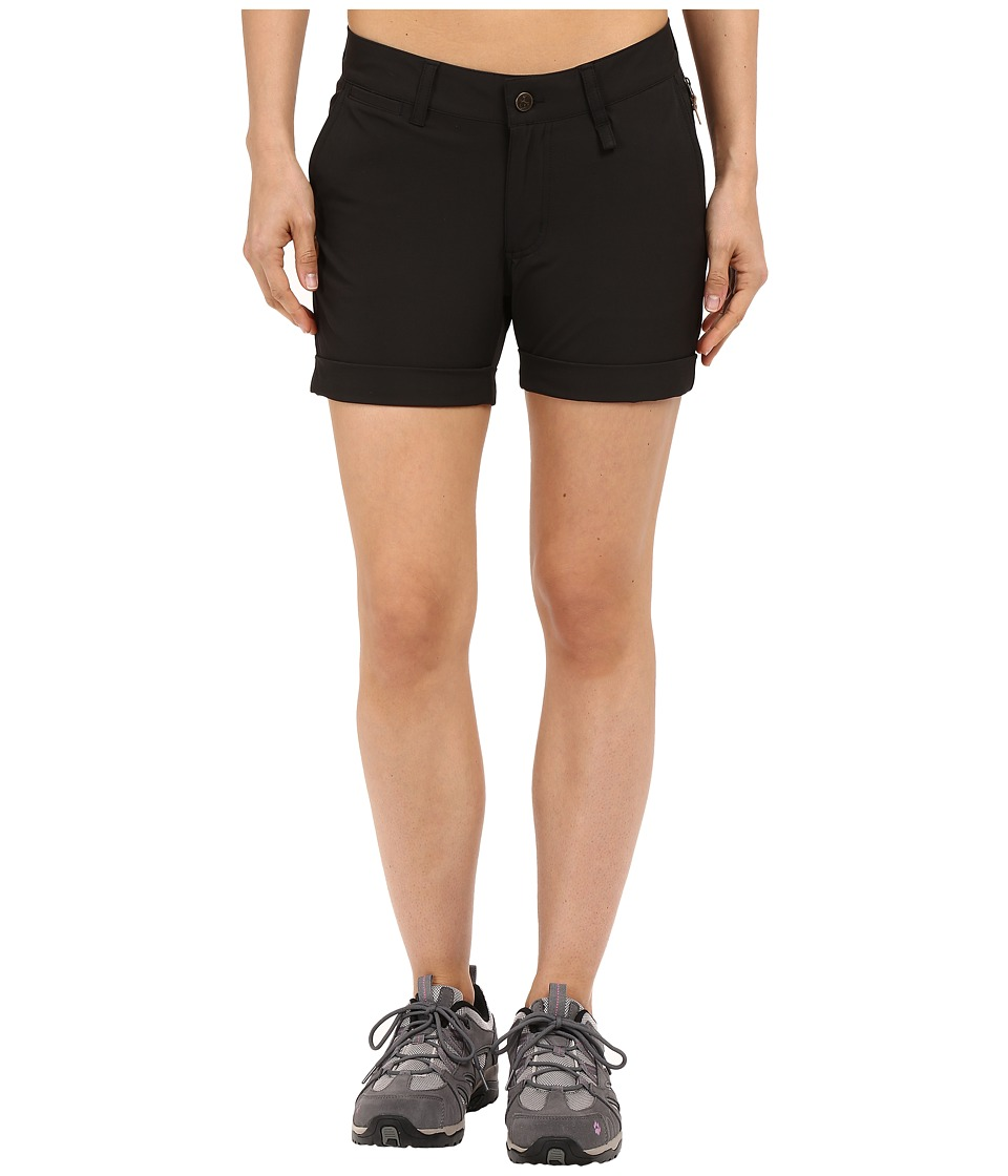 Fj llr ven - Abisko Stretch Shorts (Black) Women's Shorts