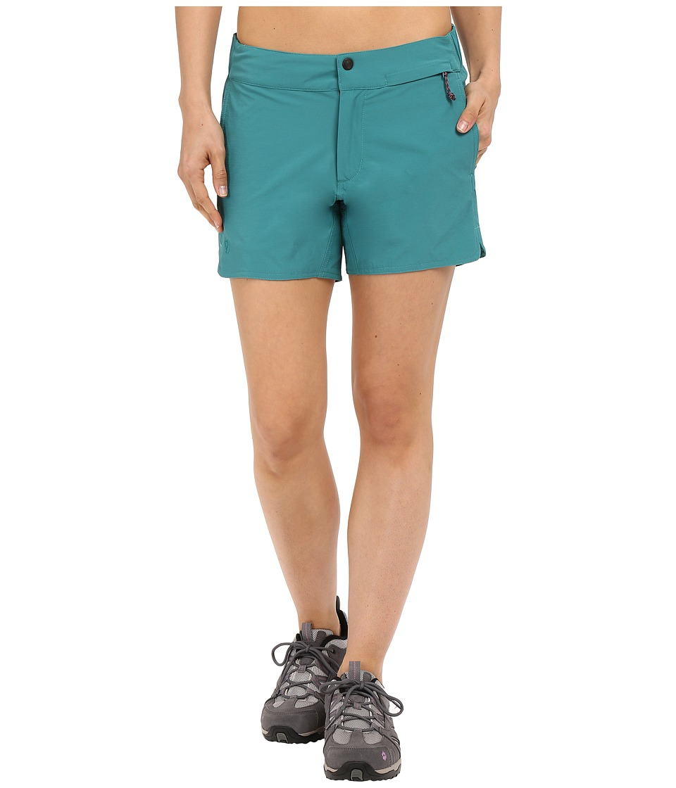 Fjallraven - High Coast Trail Shorts (Copper Green) Women's Shorts