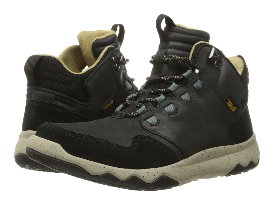 Teva Arrowood Lux Mid WP (Black) Men