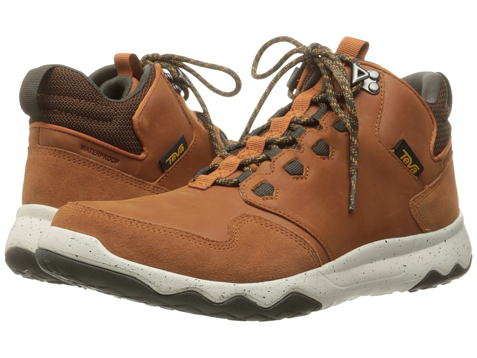Teva Arrowood Lux Mid WP (Cognac) Men